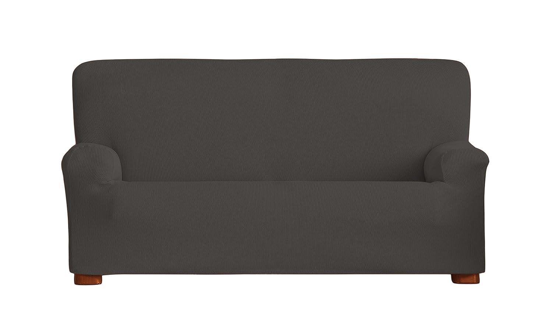 Eysa Ulises - Funda de sofá elástica, 3 plazas, Color Gris