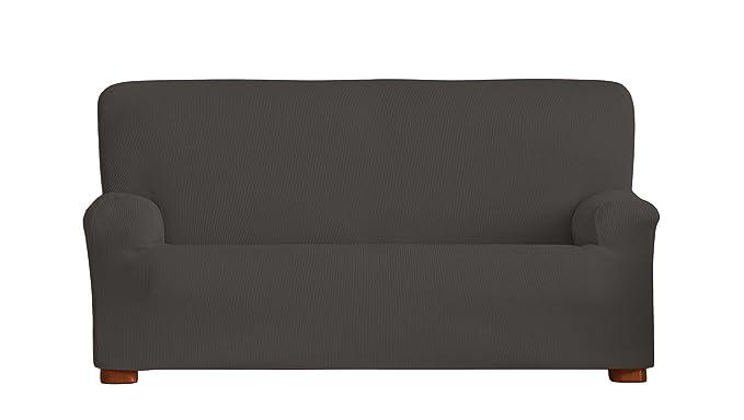 Eysa Ulises - Funda de sofá elástica, 1 Plaza, Color Gris