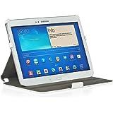 StilGut UltraSlim Case, Tasche mit Stand- und Präsentationsfunktion für Samsung Galaxy Tab 3 10.1, weiß vintage