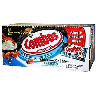 Combos Buffalo Blue Cheese Pretzel Baked Snacks, 18 Count