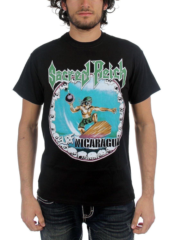 Sacred Reich - Mens Surf Nicaragua T-Shirt in Black