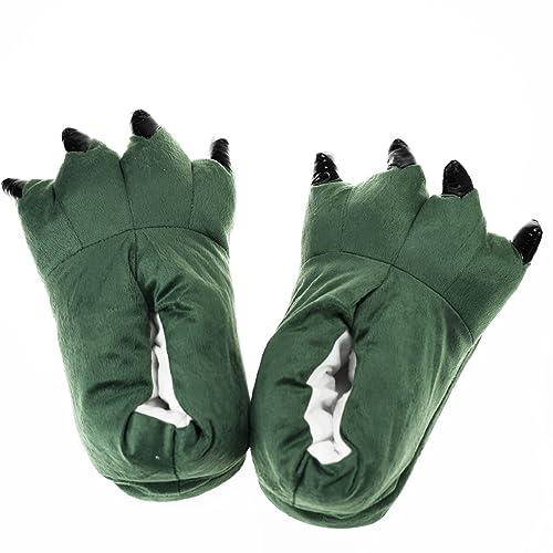 Heekpek® Zapatos Zapatillas Garras de Animal Traje de Disfraz para Adulto Unisex Carnaval Halloween de