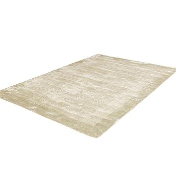 Salar Bambus Teppich 160 X 230 Cm Grau Amazon De Kuche Haushalt