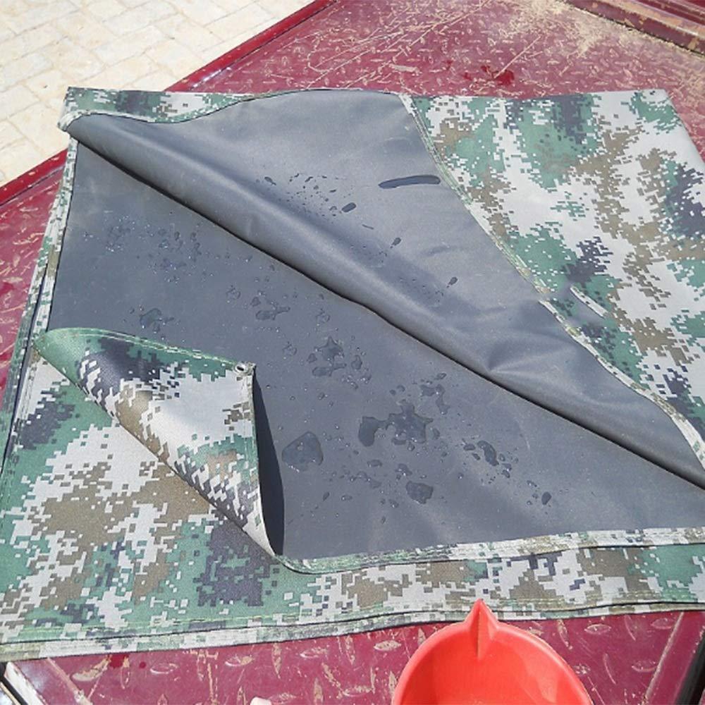 Tarpaulin Tarpaulin Tarpaulin NAN Verdicken Sie Camouflage-Plane Rainproof Sonnencremeabdeckung 400g   m2 (größe   4x7m) B07L2NK4LD Zeltplanen Qualitätsprodukte 72c15c