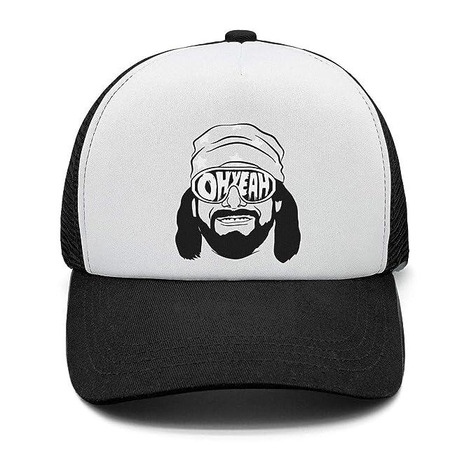 9072ebeb30b035 Baseball Cap Macho-Man-Randy-Savage-Oh-Yeah- Cool Snapbacks Cap Baseball  Trucker Hats Unisex at Amazon Men's Clothing store:
