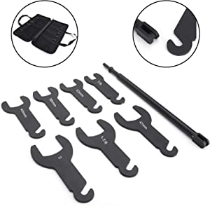 Topteng 43300 Pneumatic Fan Clutch Wrench Set for Ford for GM for Chrysler