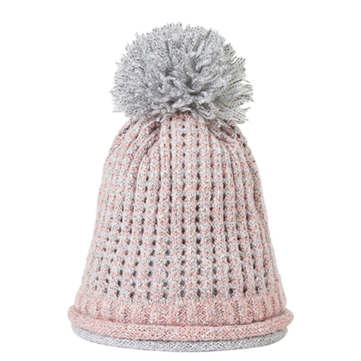 XINBONG 2018 New Winter Double-Layer Hat Women Beanie Hat Fashion Thickening Knitted Wool Hat for Girls Pom Pom Caps