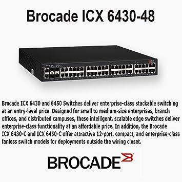 Brocade ICX 6430-48 - Switch - 48 Ports - Managed - Desktop