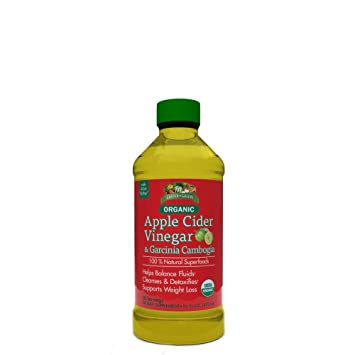 Garden Greens Organic Apple Cider Vinegar Tonic Garcinia Cambogia 30 Servings