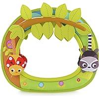 Brica by Munchkin Baby In-Sight Car Mirror, Animals Swing For Entertaining Fun, Green