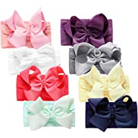 Baby Girls Headbands with Bows, Funtopia Nylon Knotted Hairbands Head Wraps for Toddlers