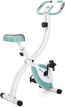 Ultrasport F-Bike 150 estática Mano, Bicicleta Fitness con Consola y sensores de Pulso en Manillar, Plegable, F-Bike 150 sin Respaldo, Unisex, Azul: Amazon.es: Deportes y aire libre