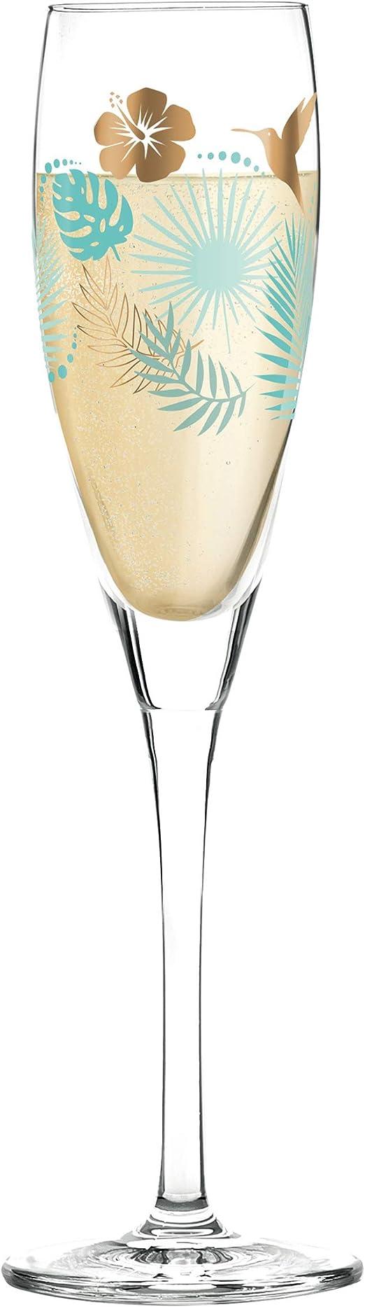 Bicchiere da Champagne 3250016 2,5 x 2,5 cm x 22 cm, Colore: Multicolore 6,35 RITZENHOFF Pearls