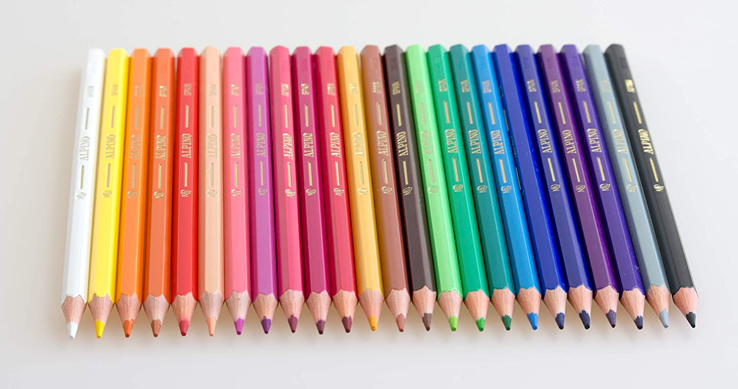 Amazon.com : Alpino 944441 - Pencil case of Coloured Pencils ...