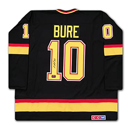 126596363 Pavel Bure Vancouver Canucks Retro Black Jersey CCM at Amazon s ...