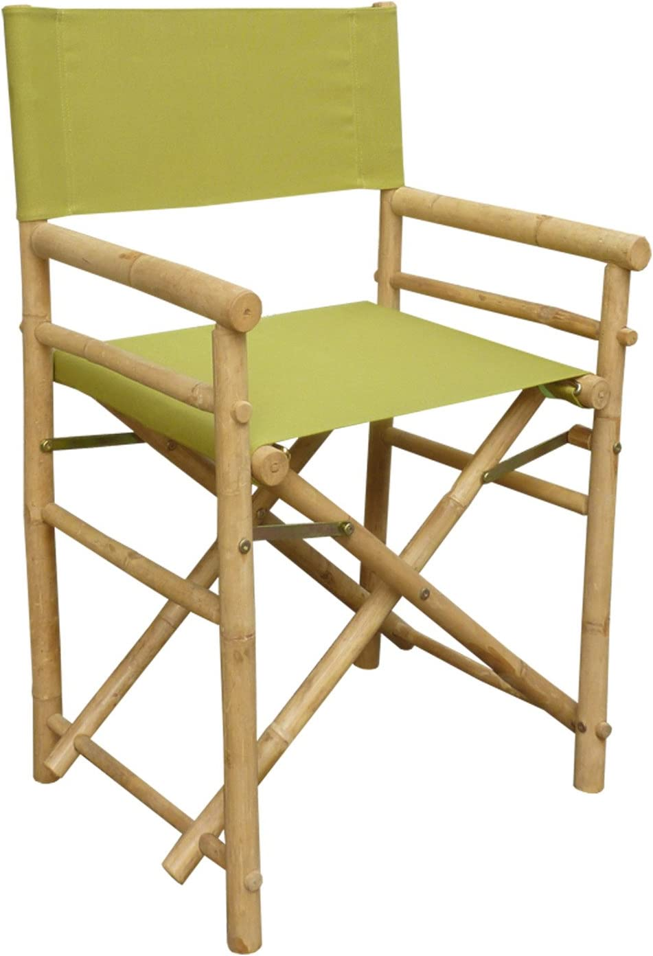 Zew Replacement UV Treated Color Durable Canvas for Bamboo Folding Directors Chairs Olive