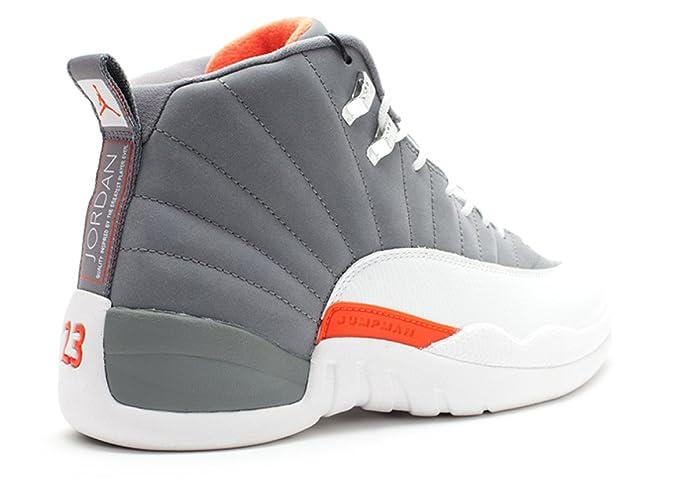 brand new 1caa4 d0c38 Amazon.com   NIKE Air Jordan 12 Retro Cool Grey (130690-012)   Basketball