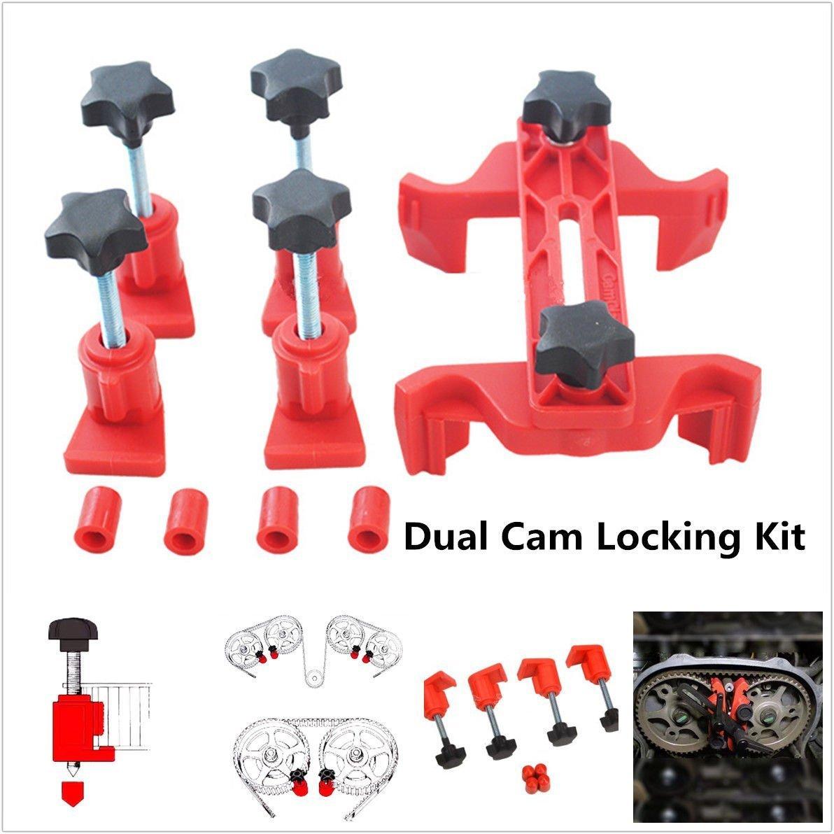 Universal 5Pcs Cam Camshaft Lock Holder Car Engine Cam Timing Locking Tool Set WOPUS