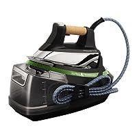 Rowenta Silence Steam Extreme DG8985 - Centro de planchado de 7,5 bares con autonomía ilimitada, golpe de vapor 500 g/min, silencioso, recolector cal, suela Microsteam Laser 400 3D (Reacondicionado Certificado)