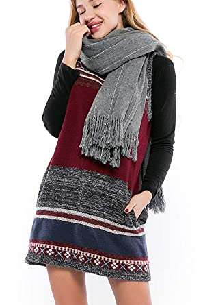 ff9d923e0f3baa Image Unavailable. Image not available for. Color  Incolacolle Women s  Sweater Dress ...