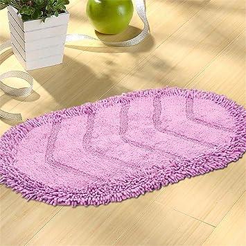 QIANMO Alfombrillas Alfombrillas Carpet colchones colchonetas Alfombrillas Alfombrillas Alfombrillas colchonetas Cojines Avena Rosa 500mmx800mm: Amazon.es: ...