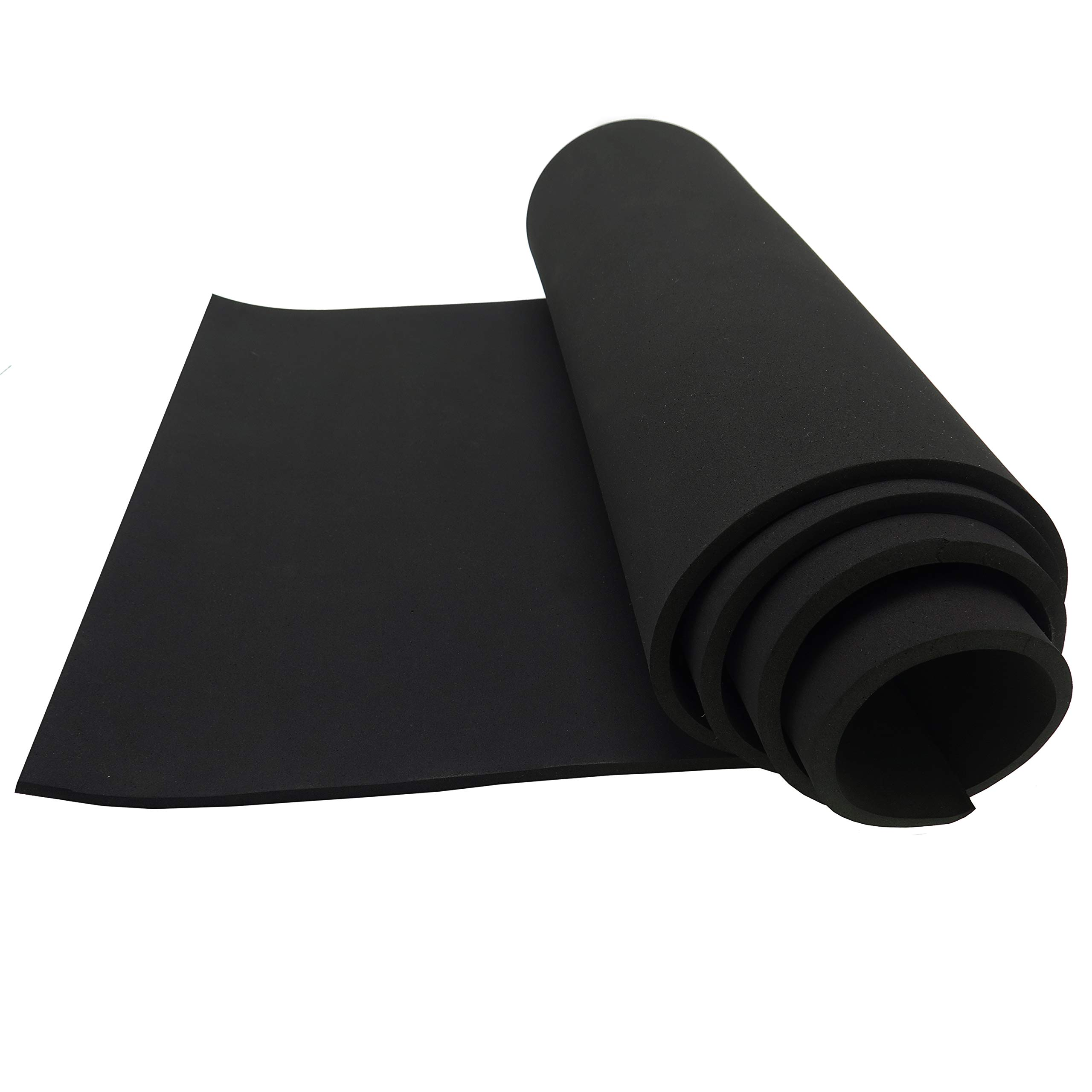 d872050be76 Amazon.com: Neoprene Sponge Foam Rubber Sheet Roll - 15in x 60in (1/4in  Thick): Industrial & Scientific