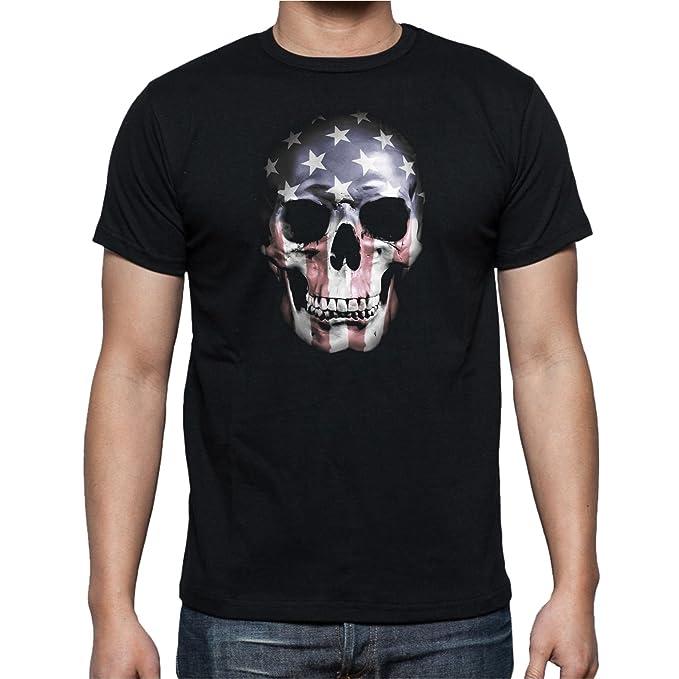 The Fan Tee Camiseta de Hombre Skull Calavera awiq2zKa