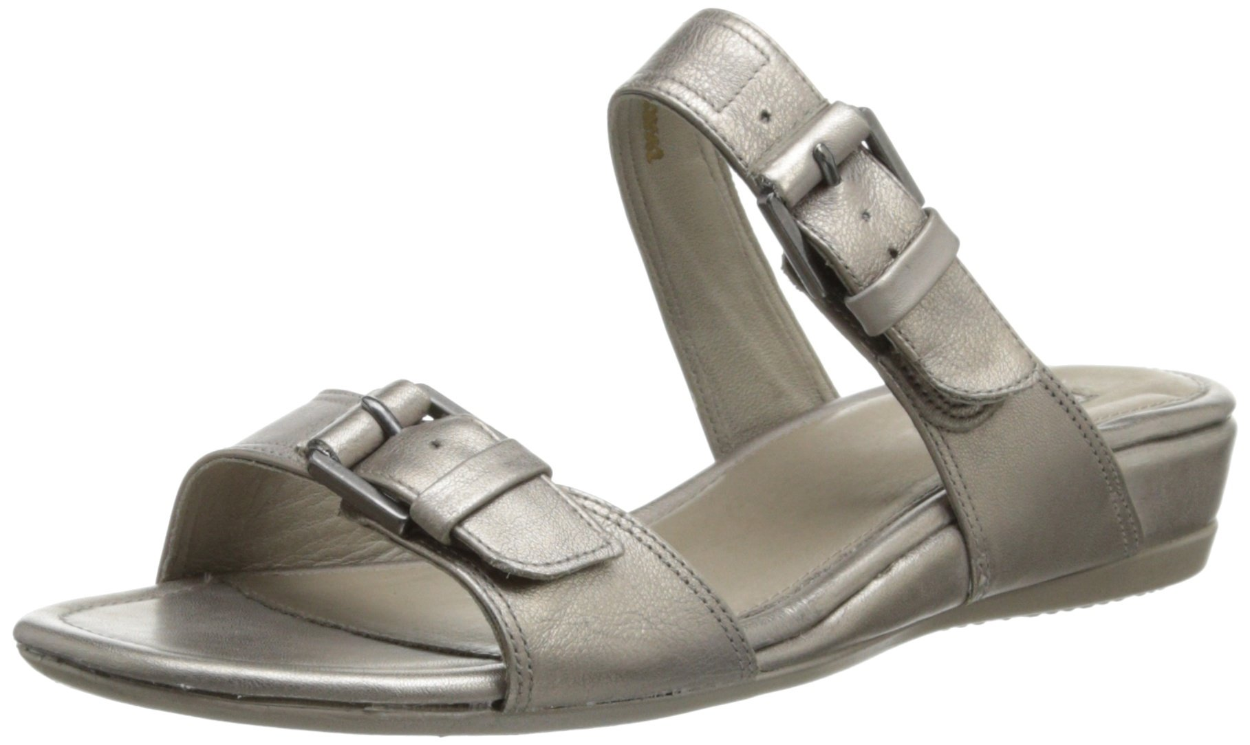ECCO Women's Touch 25 Stride Dress Sandal,Moon Rock,38 EU/7-7.5 M US