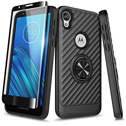 Amazon.com: NageBee Moto E6 - Carcasa protectora para móvil ...