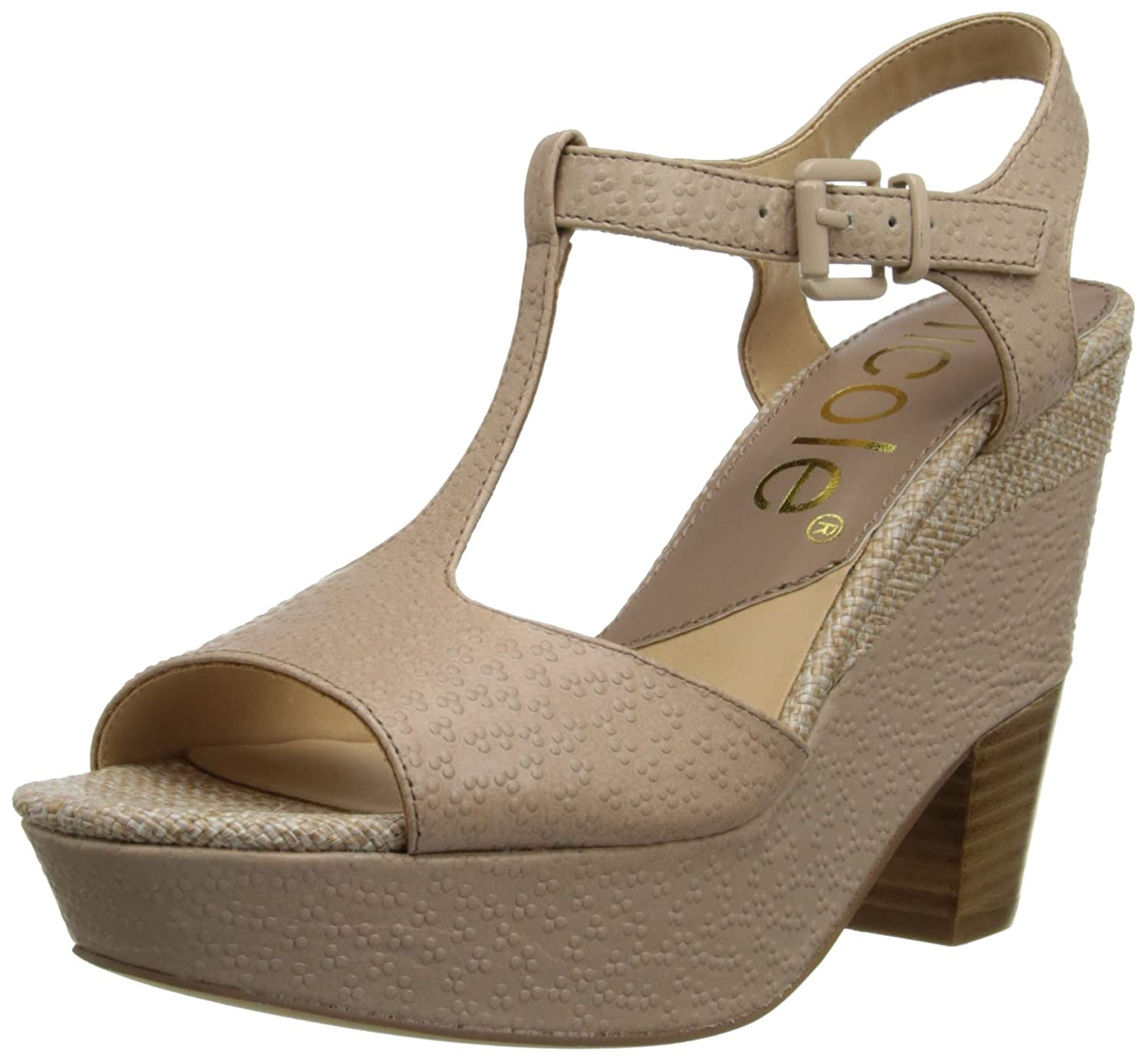 ca267601656 Nicole Women s Gerry Wedge Sandal new - plancap.com.ar