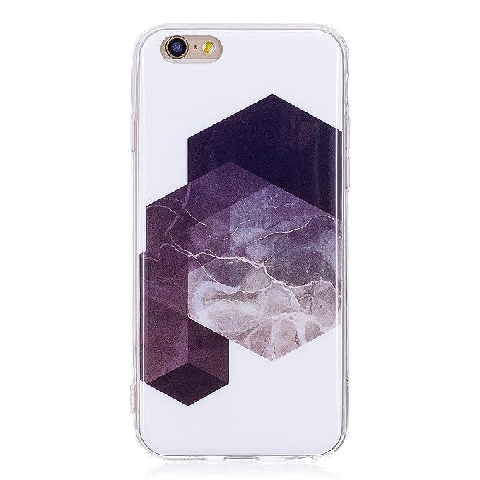 Carcasa iphone 6s TPU Transparente Funda Cubierta de ...