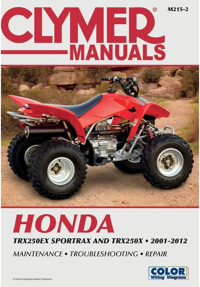 Clymer Honda trx250ex Sportrax & TRX 250 x (2001 – 2012)