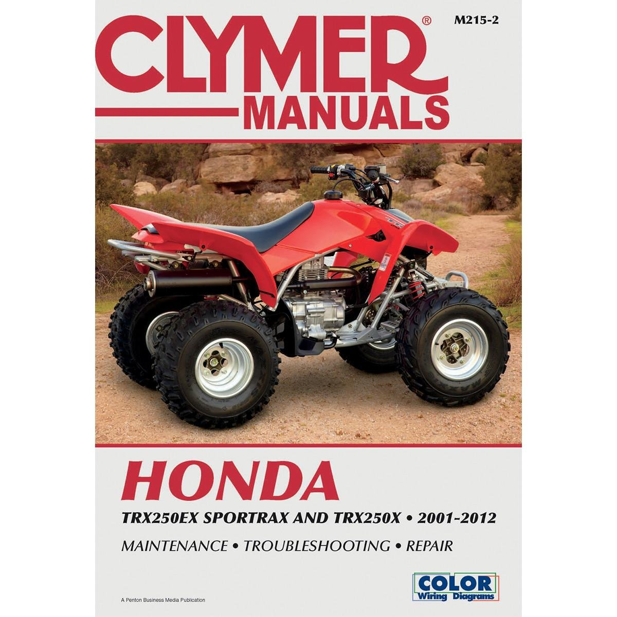 Amazon.com: Clymer Honda TRX250EX Sportrax & TRX 250X (2001-2012) (52953):  Manufacturer: Automotive