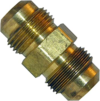 """Eight New 3//8/"""" Brass Flare Nuts Fitting Fittings Plumbing Heating #21 8"""