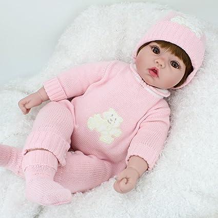 47fc22235c9b Amazon.com: Kaydora Reborn Baby Dolls 22 Inch Lifelike Girl Reborn Baby  Realistic Handmade Reborn Doll Girl Gift Huggable Soft Body Toy: Toys &  Games