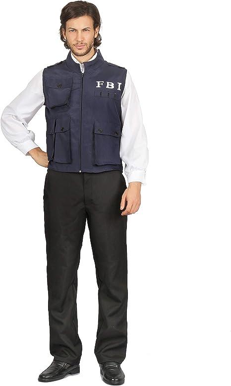 Generique - Disfraz policía FBI Hombre XL: Amazon.es: Juguetes y ...