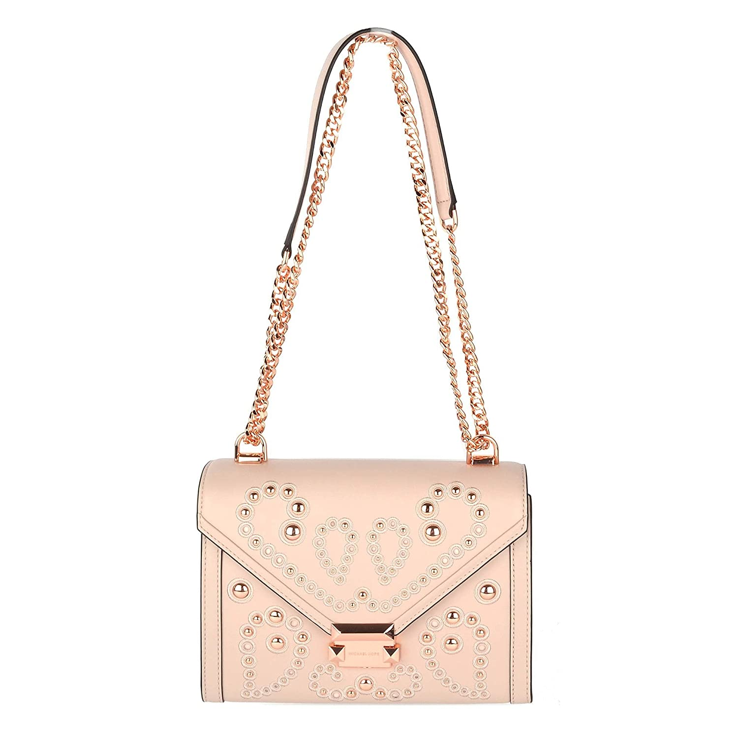 2e0a6cdfb96a07 Michael Kors - Whitney Large Leather Shoulder Bag, Soft Pink, OS: Amazon.co. uk: Shoes & Bags