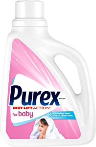 Purex Liquid Laundry Detergent for Baby, 75 Fluid Ounces, 50 Loads