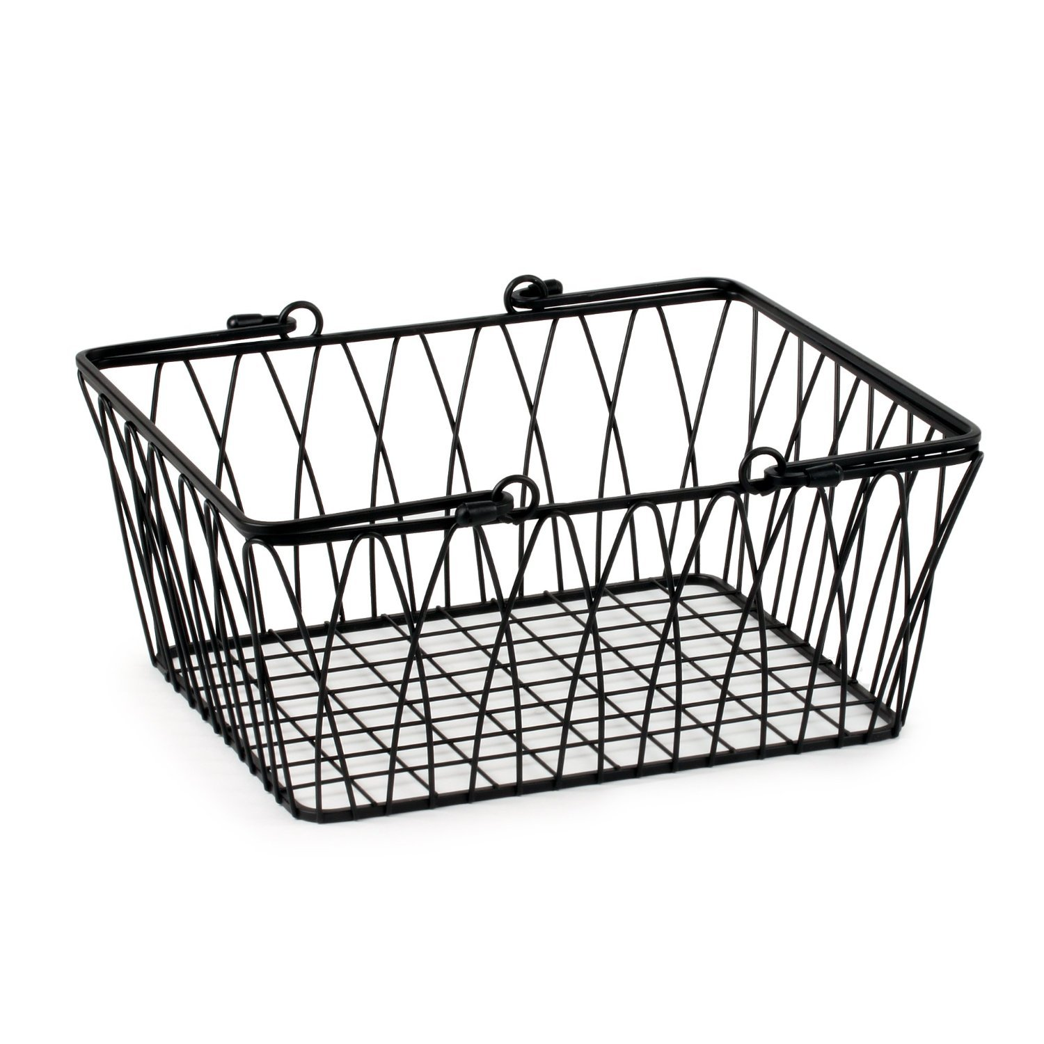 Amazon.com: Spectrum Diversified Twist Wire Storage Basket, Medium ...