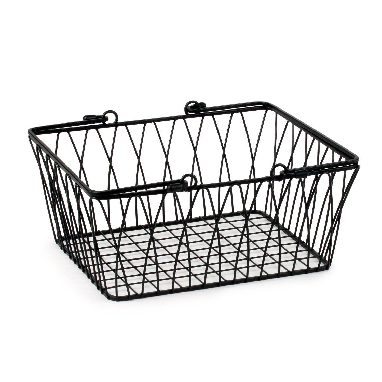 Spectrum Diversified Twist Wire Storage Basket, Medium
