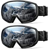 OutdoorMaster Kids Ski Goggles, Snowboard Goggles - Youth Snow Goggles