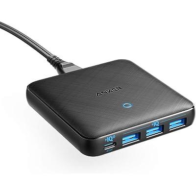 【20時まで】Anker PowerPort Atom III Slim (Four Ports) Power Delivery対応 65W USB-C&USB-A 4ポート急速充電器 送料込3,654円