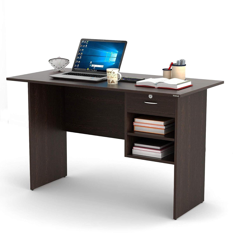 - BLUEWUD Amalet Engineered Wood Study Table, Laptop, Computer Table