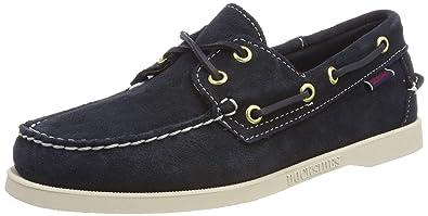 82e8c0d3204 Sebago Docksides Portland Suede W Chaussures Bateau Femme  Amazon.fr ...