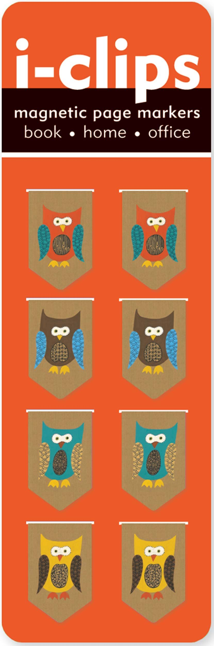 Owls i-Clip Magnetic Page Markers (Set of 8 Magnetic Bookmarks) PDF ePub book