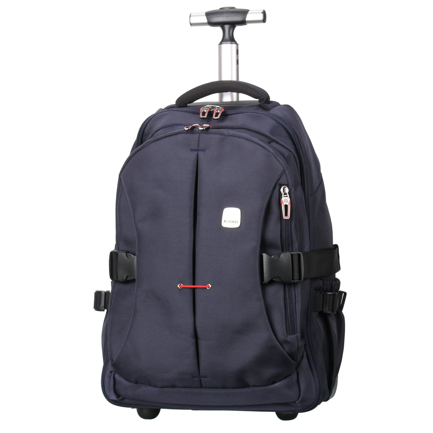 """19"""" TSA Checkpoint Friendly Wheeled Backpack, Rolling Carry-on Luggage Travel Duffel Bag for Men,Blue"""
