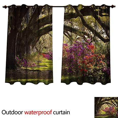 Amazon.com : cobeDecor Nature Home Patio Outdoor Curtain ... on mythical garden designs, mystical waterfalls, mystical landscape, hypnotic garden designs, mystical roses, mystical fairy gardens, art garden designs, secret garden designs, simple garden designs, native american garden designs, modern garden designs, romantic garden designs, natural garden designs, celtic garden designs, inspiring garden designs, artistic garden designs, meditation garden designs, elegant garden designs, landscape garden designs, cosmic garden designs,