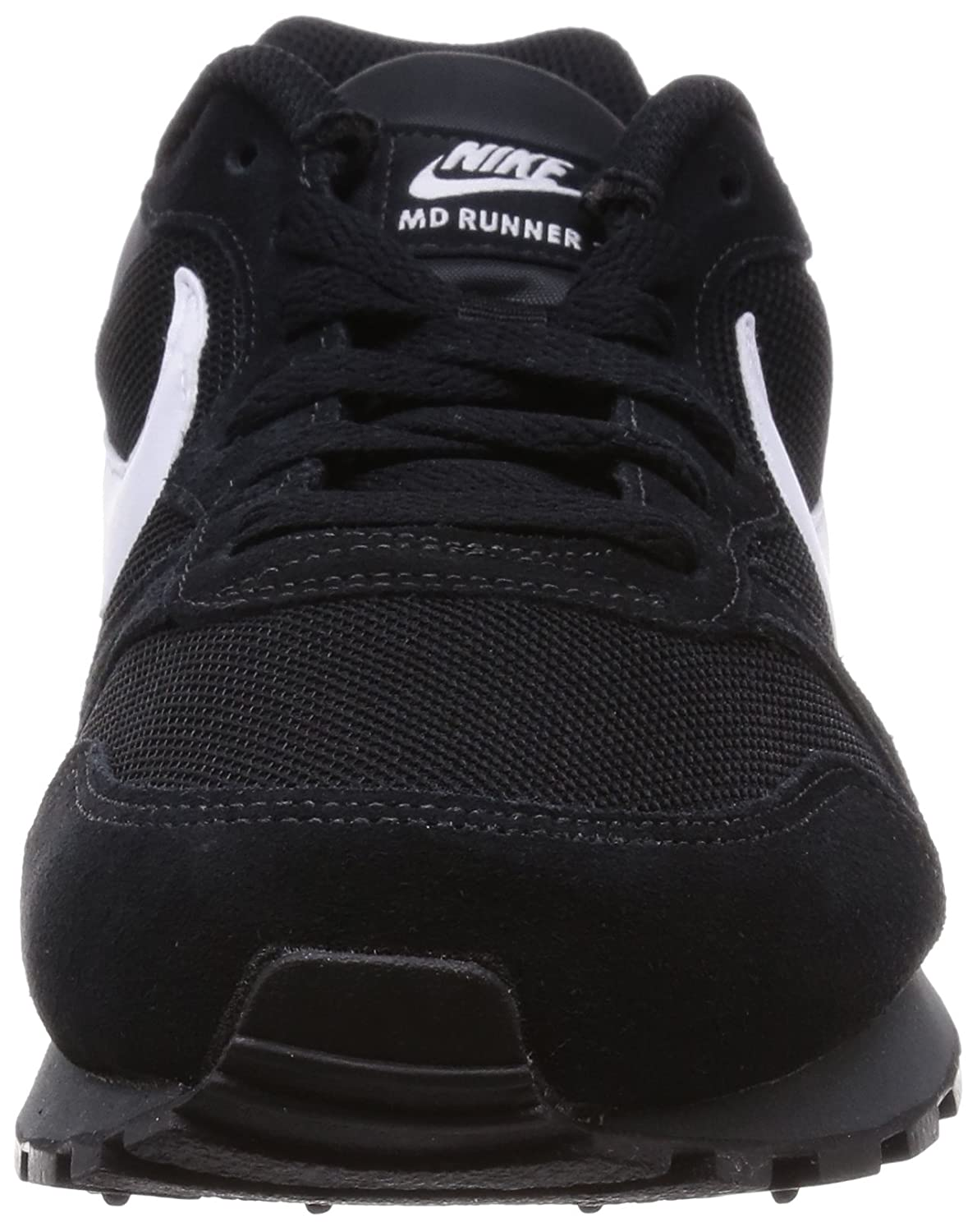 new style 1919a ffa2f Nike MD Runner 2, Baskets mode homme - Noir (Black White-Anthracite 010),  45.5 EU  Amazon.fr  Chaussures et Sacs