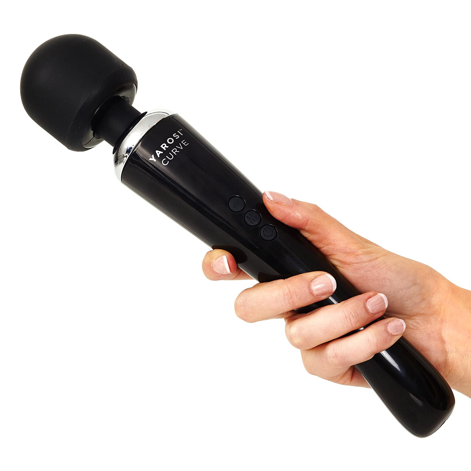 Alessandro yarosi cordless curved therapeutic wand for Most powerful wand