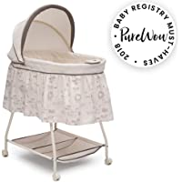 Delta Children Deluxe Sweet Beginnings Bassinet, Playtime Jungle